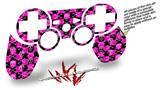 Sony PS3 Controller Decal Style Skin - Skull and Crossbones Checkerboard (CONTROLLER NOT INCLUDED)