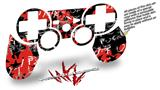 Sony PS3 Controller Decal Style Skin - Emo Graffiti (CONTROLLER NOT INCLUDED)