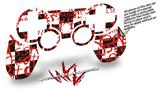 Sony PS3 Controller Decal Style Skin - Insults (CONTROLLER NOT INCLUDED)