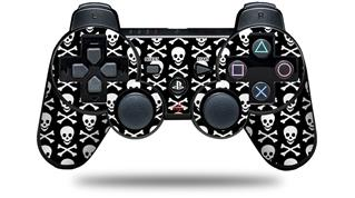Sony PS3 Controller Decal Style Skin - Skull and Crossbones Pattern (CONTROLLER NOT INCLUDED)