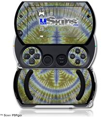Tie Dye Peace Sign 102 - Decal Style Skins (fits Sony PSPgo)