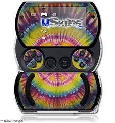 Tie Dye Peace Sign 109 - Decal Style Skins (fits Sony PSPgo)