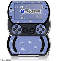 Snowflakes - Decal Style Skins (fits Sony PSPgo)