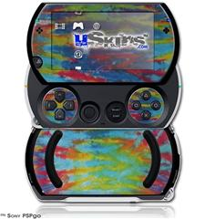 Tie Dye Tiger 100 - Decal Style Skins (fits Sony PSPgo)
