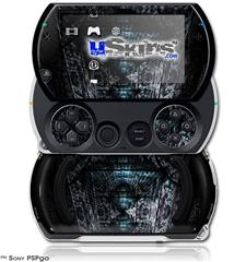 MirroredHall - Decal Style Skins (fits Sony PSPgo)