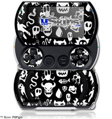 Monsters - Decal Style Skins (fits Sony PSPgo)