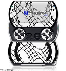 Ripped Fishnets - Decal Style Skins (fits Sony PSPgo)