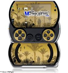 Summer Palm Trees - Decal Style Skins (fits Sony PSPgo)