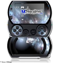 Coral Tesseract - Decal Style Skins (fits Sony PSPgo)