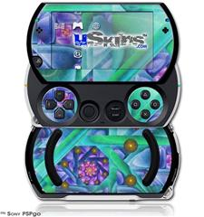 Cell Structure - Decal Style Skins (fits Sony PSPgo)