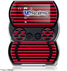 Stripes Red - Decal Style Skins (fits Sony PSPgo)