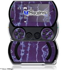 Tie Dye White Lightning - Decal Style Skins (fits Sony PSPgo)