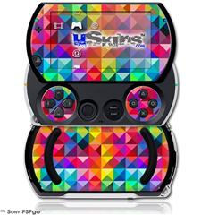 Spectrums - Decal Style Skins (fits Sony PSPgo)