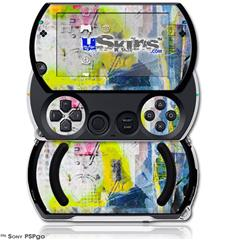 Graffiti Graphic - Decal Style Skins (fits Sony PSPgo)