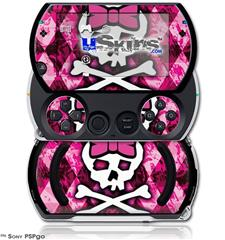 Pink Bow Princess - Decal Style Skins (fits Sony PSPgo)