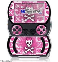 Princess Skull - Decal Style Skins (fits Sony PSPgo)