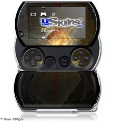 Fireball - Decal Style Skins (fits Sony PSPgo)