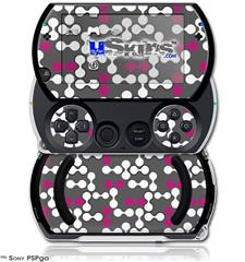 Locknodes 04 Hot Pink (Fuchsia) - Decal Style Skins (fits Sony PSPgo)