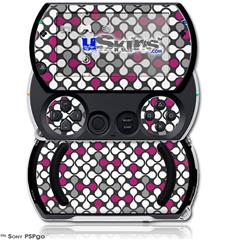 Locknodes 05 Hot Pink (Fuchsia) - Decal Style Skins (fits Sony PSPgo)