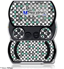 Locknodes 05 Seafoam Green - Decal Style Skins (fits Sony PSPgo)