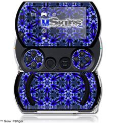 Daisy Blue - Decal Style Skins (fits Sony PSPgo)