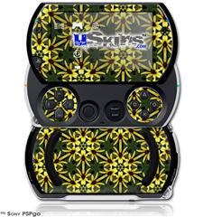 Daisy Yellow - Decal Style Skins (fits Sony PSPgo)