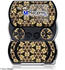 Leave Pattern 1 Brown - Decal Style Skins (fits Sony PSPgo)