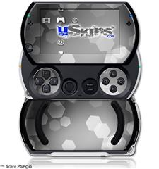 Bokeh Hex Grey - Decal Style Skins (fits Sony PSPgo)