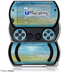 Landscape Abstract Beach - Decal Style Skins (fits Sony PSPgo)