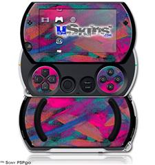Painting Brush Stroke - Decal Style Skins (fits Sony PSPgo)