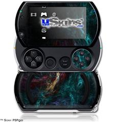 Thunder - Decal Style Skins (fits Sony PSPgo)