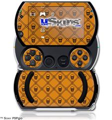 Halloween Skull and Bones - Decal Style Skins (fits Sony PSPgo)