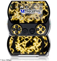 Electrify Yellow - Decal Style Skins (fits Sony PSPgo)
