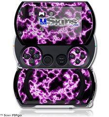 Electrify Hot Pink - Decal Style Skins (fits Sony PSPgo)