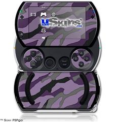 Camouflage Purple - Decal Style Skins (fits Sony PSPgo)