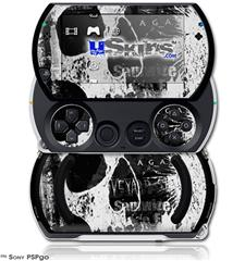 Urban Skull - Decal Style Skins (fits Sony PSPgo)