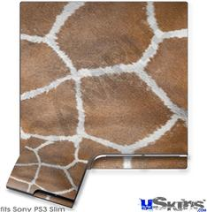 Sony PS3 Slim Skin - Giraffe 02