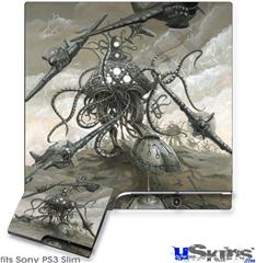 Sony PS3 Slim Skin - Mankind Has No Time