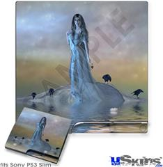 Sony PS3 Slim Skin - Kathy Gold - Forever More