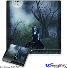 Sony PS3 Slim Skin - Kathy Gold - Little Miss Muffet1