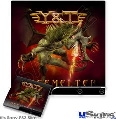 Sony PS3 Slim Skin - Y&T Facemelter