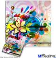 Sony PS3 Slim Skin - Floral Splash