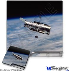 Sony PS3 Slim Skin - Hubble Images - Hubble Orbiting Earth