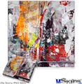 Sony PS3 Slim Decal Style Skin - Abstract Graffiti