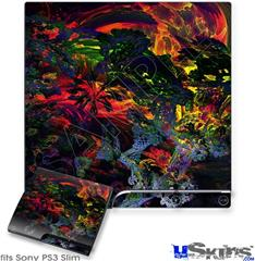 Sony PS3 Slim Decal Style Skin - 6D
