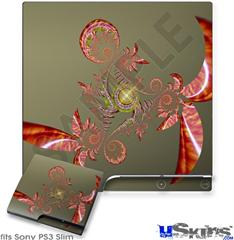 Sony PS3 Slim Skin - Flutter