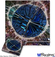 Sony PS3 Slim Decal Style Skin - Spherical Space