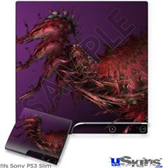Sony PS3 Slim Skin - Insect