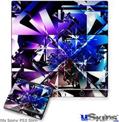 Sony PS3 Slim Skin - Persistence Of Vision