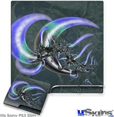 Sony PS3 Slim Skin - Sea Anemone2